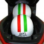 Benelli Zafferano 250 underseat storage
