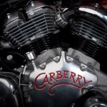 Carberry Royal Enfield V twin engine right side