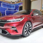Daihatsu DN F-Sedan GIIAS 2017 front angle view