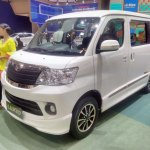 Daihatsu Luxio Special Edition at GIIAS 2017 left front three quarters
