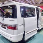Daihatsu Luxio Special Edition at GIIAS 2017 left rear three quarters