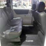 Daihatsu Luxio Special Edition at GIIAS 2017 rear seats