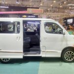 Daihatsu Luxio Special Edition at GIIAS 2017 rear side view