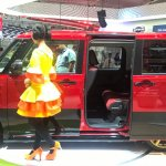 Daihatsu Move Canbus at GIIAS 2017 left side view