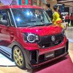 Daihatsu Move Canbus at GIIAS 2017 right front three quarters