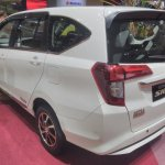 Daihatsu Sigra Special Edition GIIAS 2017 left rear three quarters