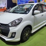 Daihatsu Sirion Special Edition GIIAS 2017 left front three quarters