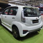Daihatsu Sirion Special Edition GIIAS 2017 left rear three quarters
