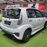 Daihatsu Sirion Special Edition GIIAS 2017 right rear three quarters