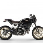 Ducati Scrambler Cafe Racer side view
