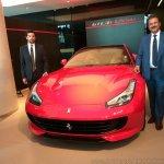 Ferrari GTC4Lusso India front left shot