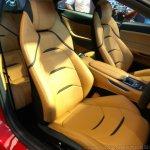 Ferrari GTC4Lusso India front seat