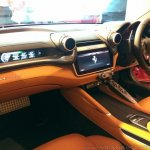 Ferrari GTC4Lusso India passenger side interior