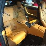 Ferrari GTC4Lusso India rear seats