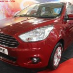 Ford Aspire Tour showcased at Prawaas 2017 nose