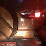 Ford EcoSport facelift trend variant spied