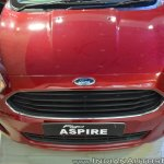 Ford Figo Aspire front fascia top view at Nepal Auto Show 2017