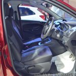 Ford Figo Aspire front seats at Nepal Auto Show 2017