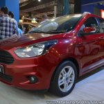 Ford Figo Aspire front three quarters at Nepal Auto Show 2017