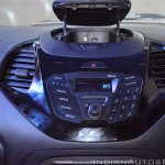 Ford Figo Aspire media system and phone dock at Nepal Auto Show 2017