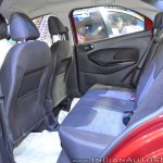 Ford Figo Aspire rear seats at Nepal Auto Show 2017
