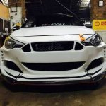 Ford 'Mustang' body kit for the Hyundai i20 Elite grille