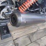Harley-Davidson Street Rod exhaust at GIIAS 2017