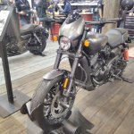 Harley-Davidson Street Rod front left quarter at GIIAS 2017