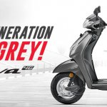 Honda Activa Matte Grey