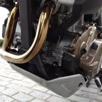 Honda Africa Twin India review bash plate