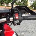 Honda Africa Twin India review handlebar right