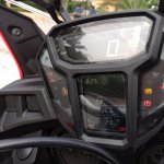 Honda Africa Twin India review instrument console