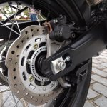 Honda Africa Twin India review rear brake