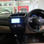 Honda Amaze Privilege Edition dashboard