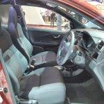Honda Brio RS GIIAS 2017 front seats
