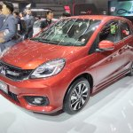Honda Brio RS GIIAS 2017 front three quarters