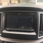 Hyundai H-1 Limited II Pioneer entertainment system