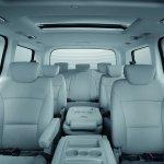 Hyundai H-1 Limited II cabin seats