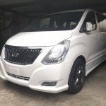 Hyundai H-1 Limited II front three quarters