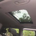 Hyundai H-1 Limited II rear sunroof