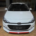 Hyundai i20 Sport front at the GIIAS 2017