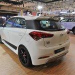 Hyundai i20 Sport rear quarter at the GIIAS 2017