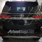 Indonesian-spec Toyota Fortuner TRD Sportivo rear