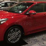 Kia Rio showcased at Kia dealer roadshow front three quarters