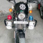 Kolkata Police Harley Davidson Street 750 front