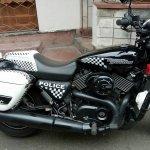 Kolkata Police Harley Davidson Street 750 right side closeup