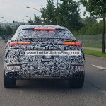 Lamborghini Urus rear Germany spy shot