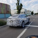 Lamborghini Urus rear three quarters Germany spy shot