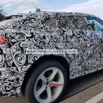 Lamborghini Urus right side Germany spy shot