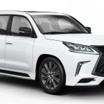 Lexus LX 570 Superior front three quarters right side